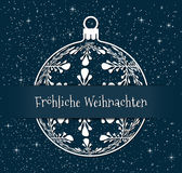 German christmas concept Royalty Free Stock Photography