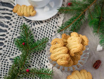 German Christmas cookies Spritz Royalty Free Stock Photography