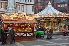 German Christmas market royalty free stock image