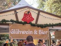 German Christmas Market Royalty Free Stock Image