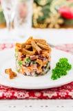 German Christmas Salad Stock Image