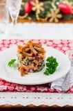 German Christmas Salad Stock Photo