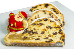 German christmas stollen Royalty Free Stock Image