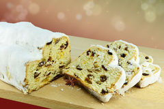 German Christmas stollen Royalty Free Stock Photos