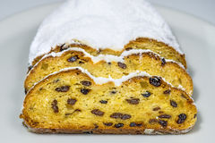 German Christmas stollen Stock Image