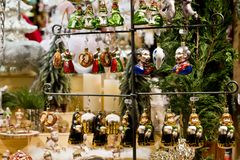 German Christmastree decorations stock images