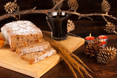 German Christstollen Stock Photo