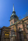 German church or Church of St Gertrude Royalty Free Stock Photo