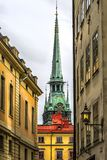 German Church in Gamla Stan (Old Town) in Stockholm Sweden Royalty Free Stock Images