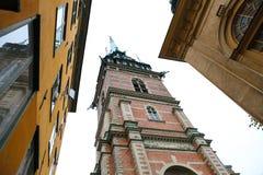 German Church in Gamla Stan, Stockholm, Sweden Royalty Free Stock Photography