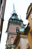 German Church in Gamla Stan, Stockholm, Sweden Royalty Free Stock Images