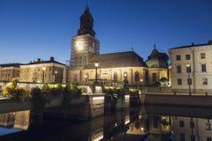 German Church in Gothenburg. Gothenburg, Vasstergotland and Bohuslan, Sweden royalty free stock photos