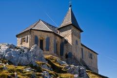 German Church at Mt. Dobratsch Stock Photography