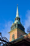 German church tower Royalty Free Stock Images