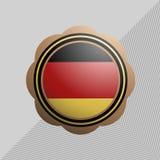 German circle emblem Stock Photography