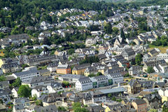 German cities along the Mosel revier Stock Photography