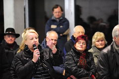 German citizens' initiative Royalty Free Stock Photos