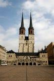 German city Halle royalty free stock image