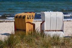 German coast Royalty Free Stock Images