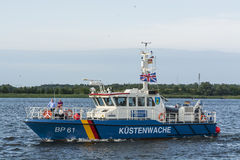 German coastguard vessel BP61 Prignitz Royalty Free Stock Photography