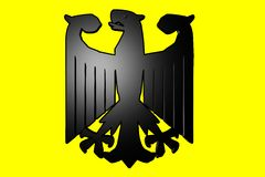 German Coat of Arms Royalty Free Stock Photos