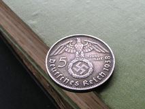 German Coin. German Silver Coin Stock Photo
