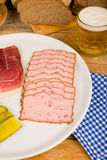 German cold meat Royalty Free Stock Images