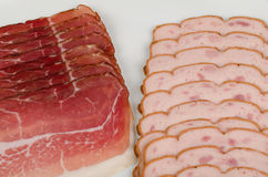 German cold meat Royalty Free Stock Photo