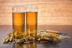 German Cologne beer glass Royalty Free Stock Photos