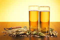 German Cologne beer glass Stock Photography