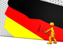 German Colors Stock Photography