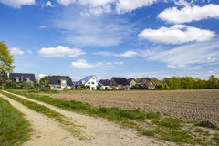 German countryside landscape, Lower Rhine Region Royalty Free Stock Photography