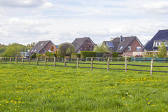 German countryside landscape, Lower Rhine Region Royalty Free Stock Image
