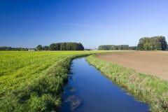 German countryside landscape, Lower Rhine Region Stock Photography