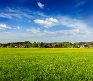German countryside and village Stock Image
