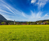 German countryside and village Royalty Free Stock Photography