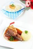 German crackling pork Royalty Free Stock Photo
