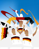 German crowd Royalty Free Stock Image