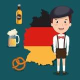 German culture design Stock Photo
