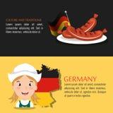 German culture design Royalty Free Stock Photos