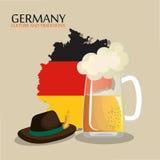 German culture design Royalty Free Stock Image
