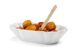 German Curry Wurst isolated Stock Photo