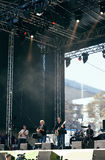 German Day of Unity. Bonn, photo taken on 1 of October 2011, concert of Knittler Stock Image
