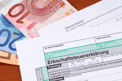 German death tax Royalty Free Stock Images