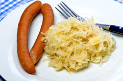 German deli Sauerkraut Stock Image