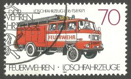 Fire Engines, Pumper Stock Images