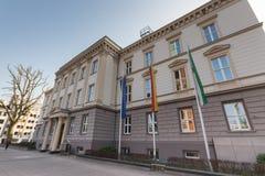 German department of justice in duesseldorf Stock Image