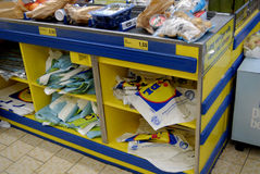 GERMAN DISCOUNT CHAIN STORE LIDL Royalty Free Stock Photography