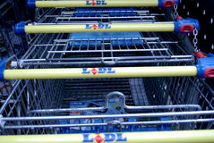 GERMAN DISCOUNT CHAIN STORE LIDL Stock Photo