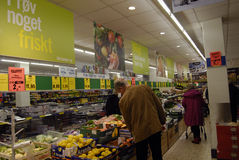 GERMAN DISCOUNT CHAIN STORE LIDL Stock Images